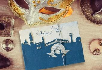 Invitatie nunta Venezia