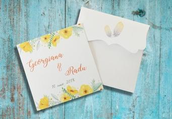 Invitatie de nunta de vara