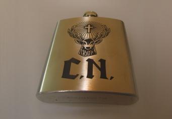 Sticla metalica personalizata