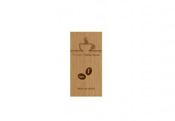 Nota plata lemn