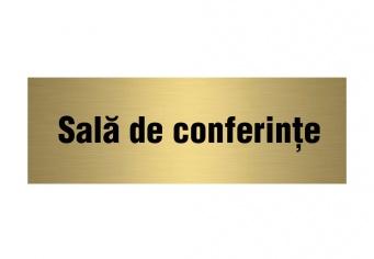 Placuta ABS Gravata - Sala de Conferinta