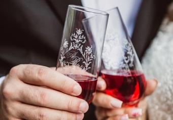 Pahare miri personalizate pentru nunta