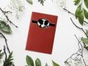 Cameo - invitatie de nunta cu design deosebit si plic cu fereastra prin care se vede invitatia