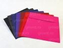 Plicuri patrate colorate din hartie speciala