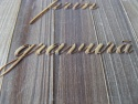 Detaliu gravura lemn