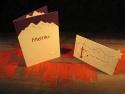 Set personalizat pentru decorarea mesei de nunta