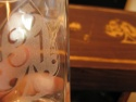 Detaliu personalizare pahar si cutie