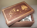 Cutie cadou din lemn personalizata prin gravura laser