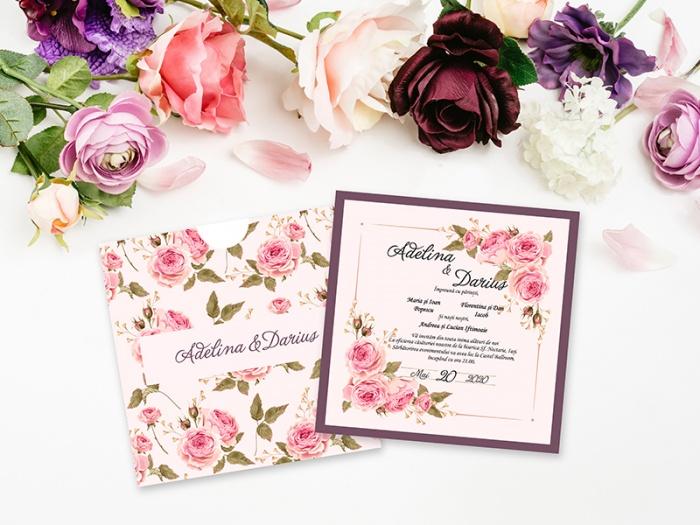 Invitatie de nunta personalizata