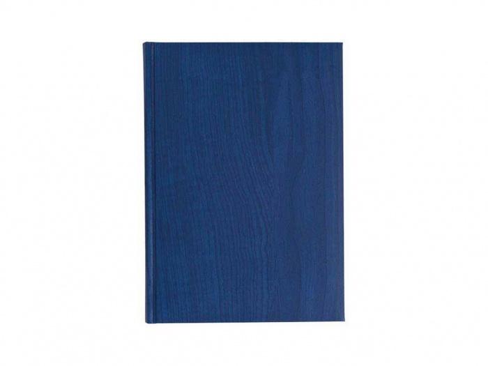 Agenda nedatata B5 coperta termo albastra