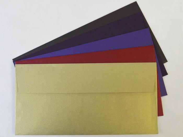 Plic DL 11 x 22 cm Standard Wallet colorate
