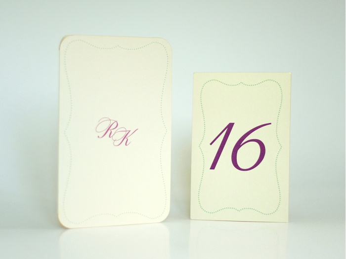 Set decor masa nunta personalizat