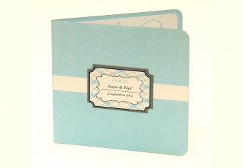 Invitatii de nunta cu plic personalizat