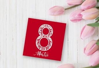 Felicitare 9 Martie