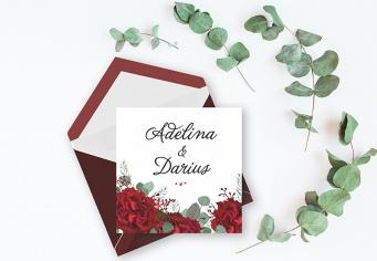 Invitatie florala