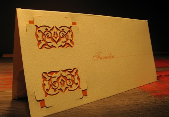 Card nume invitati masa nunta