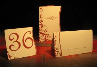 Set decor pentru masa de nunta