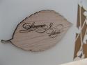 Accesoriu optional - blazon din lemn gravat si aplicat