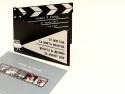 Plicul invitatie cinema este personalizat cu alte 5 poze