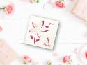 Felicitare cu flori decupate 3D