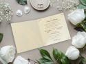 Invitatie nunta cu plic inlcus