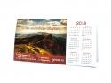 Calendar simplu pentru birou