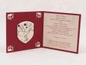Invitatie cu blazon medieval