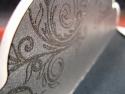 Detaliu personalizare plic interior