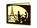 Invitatie nunta personalizata Tour Eiffel Paris