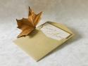 Invitatie nunta din hartie reciclata