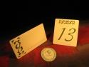 Numar masa si card nume