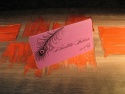 Card nume invitati masa nunta cu buzunar pentru bani