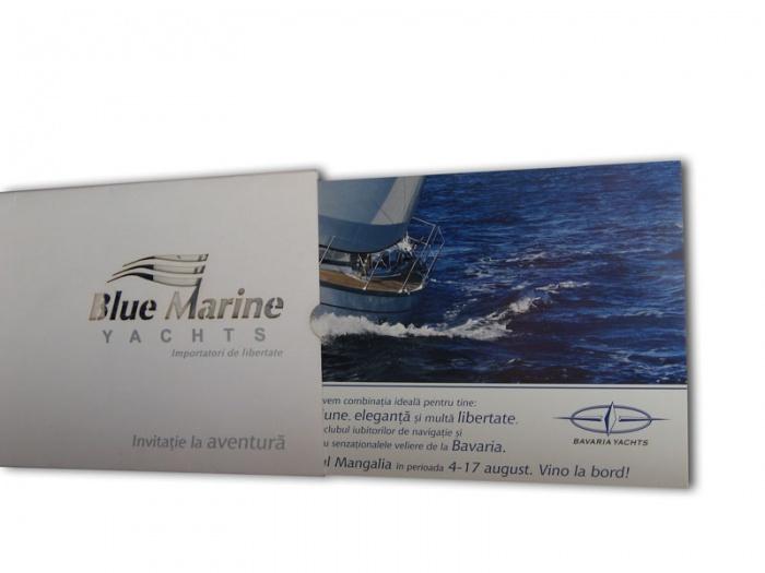 Invitatii - felicitari business Blue Marine