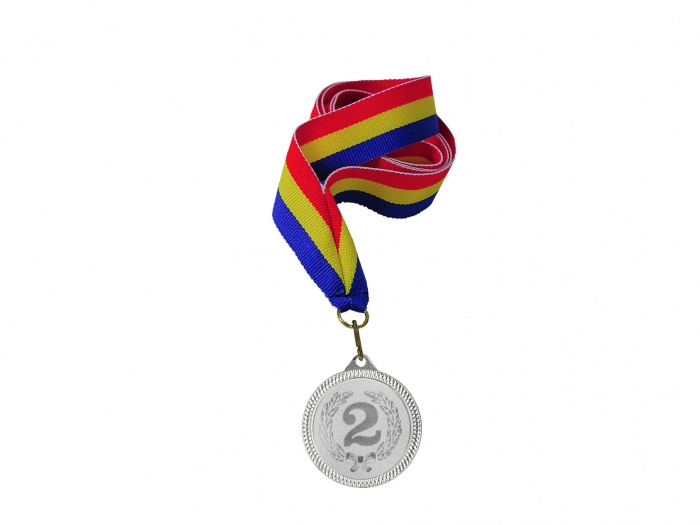 Medalie locul 2