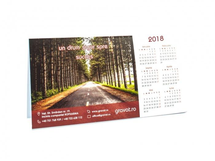 Calendare birou personalizate 2016