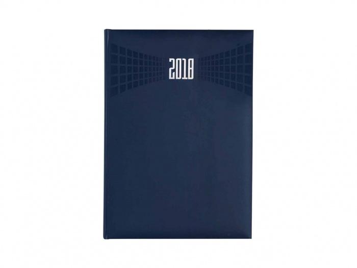 Agenda personalizata 2018 albastra