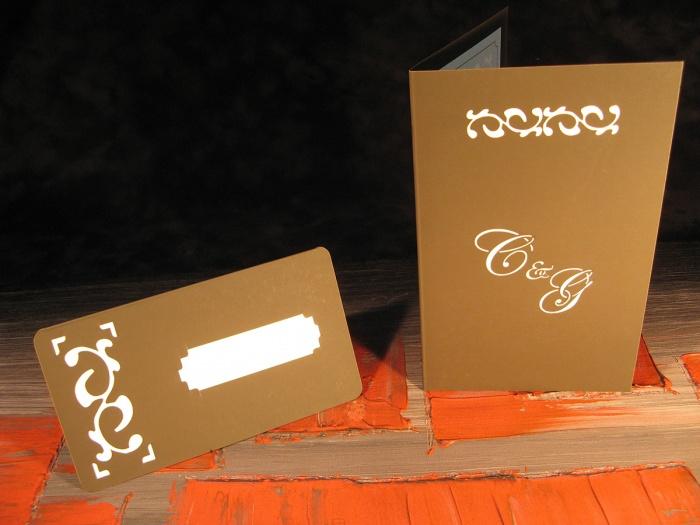 Set nunta: card nume, meniu, numar masa